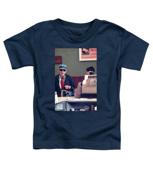 Polka Dots And Ice Cream Toddler T-Shirt