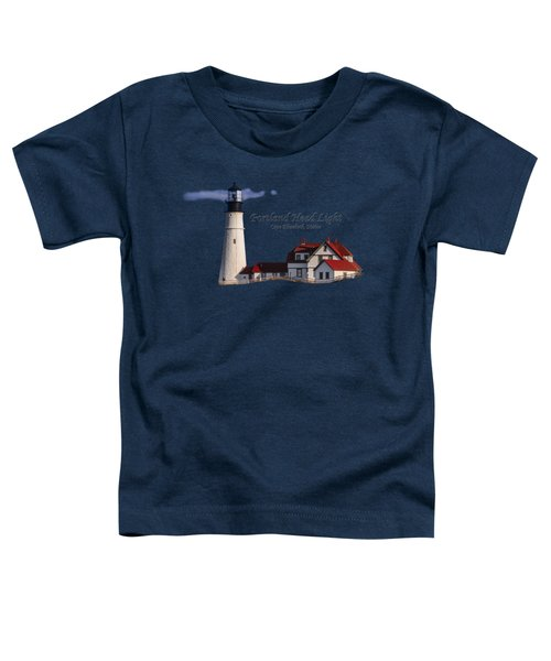 Portland Head Light No. 43 Toddler T-Shirt