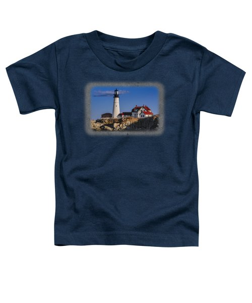 Portland Head Light No. 44 Toddler T-Shirt by Mark Myhaver