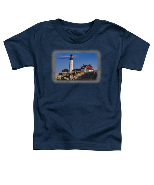 Portland Head Light No. 44 Toddler T-Shirt