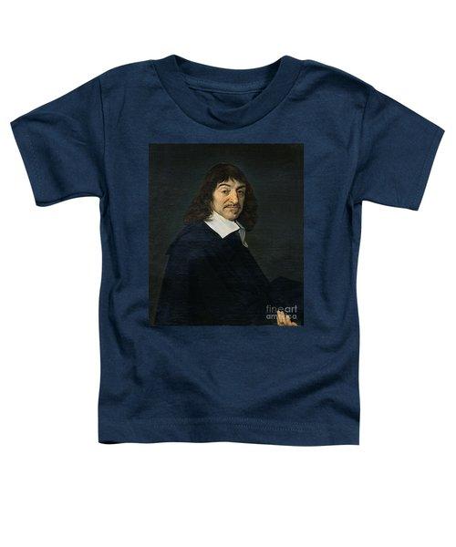 Portrait Of Rene Descartes Toddler T-Shirt