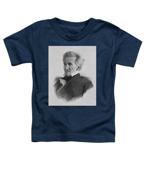 President Andrew Jackson - Three Toddler T-Shirt