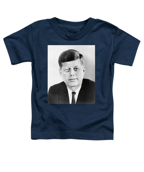 President John F. Kennedy Toddler T-Shirt