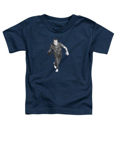 President Richard Nixon Bowling At The White House Toddler T-Shirt