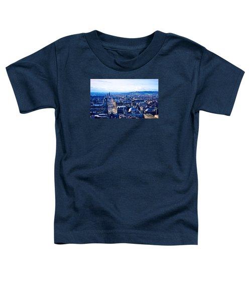 Prince's Street  Toddler T-Shirt by Ashley Hudson