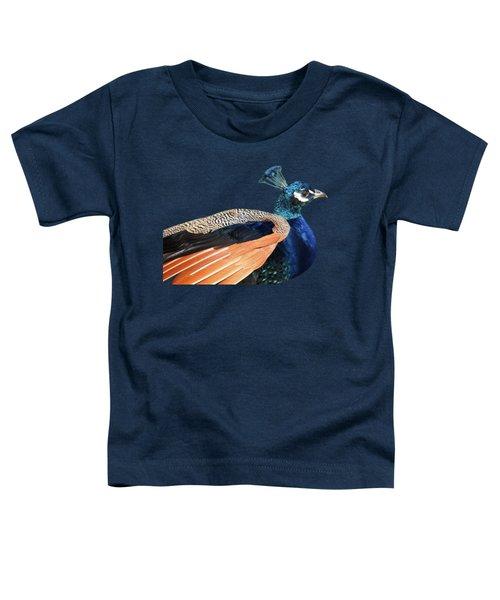 Proud Peacock Toddler T-Shirt