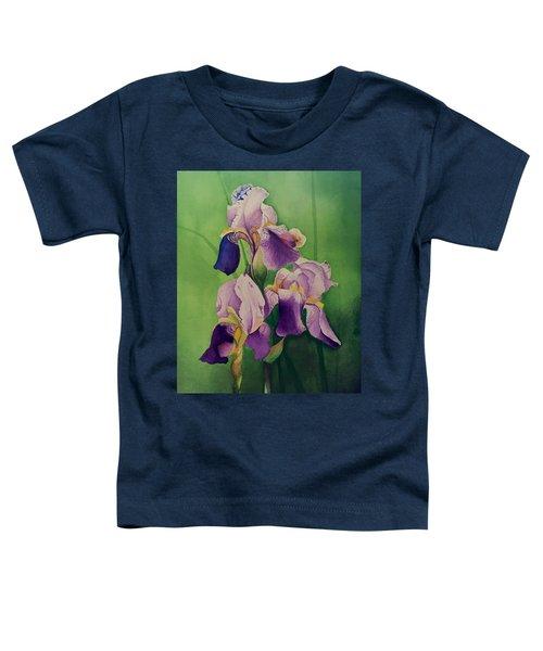 Purple Iris' Toddler T-Shirt