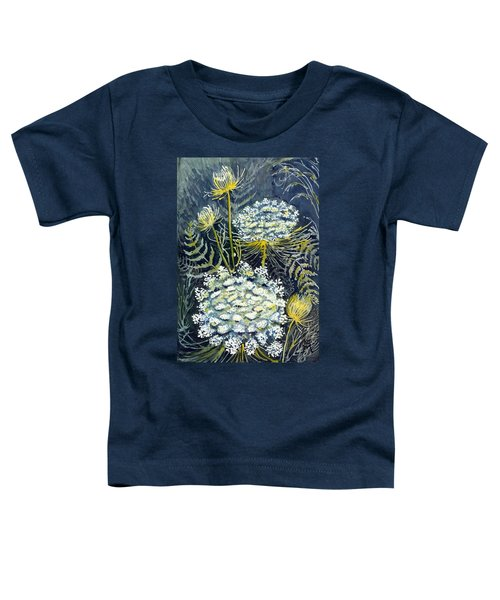 Queen Anne's Lace Toddler T-Shirt