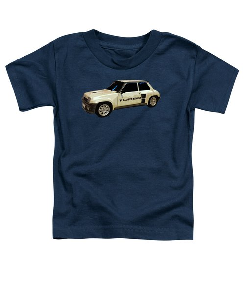 R Turbo Art Toddler T-Shirt