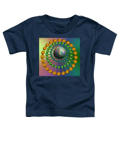 Rainbow Fractal Toddler T-Shirt