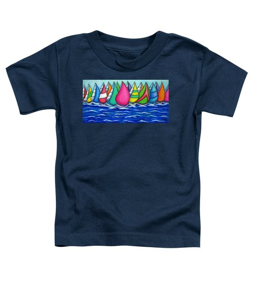 Rainbow Regatta Toddler T-Shirt