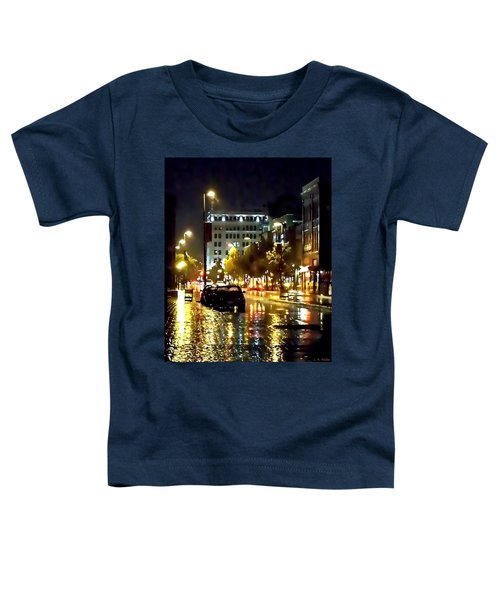 Rainy Night In Green Bay Toddler T-Shirt