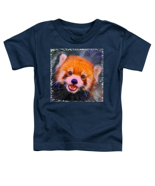 Red Panda Cub Toddler T-Shirt