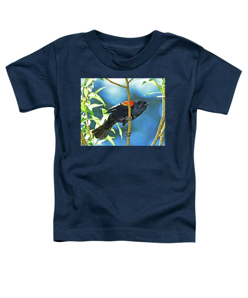 Redwing Blackbird Toddler T-Shirt