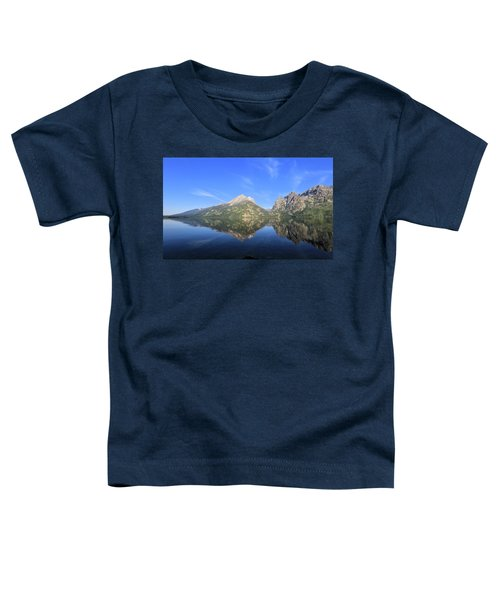Reflection At Grand Teton National Park Toddler T-Shirt