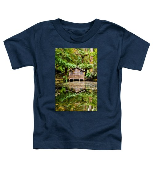 Reflections On The Pond Toddler T-Shirt