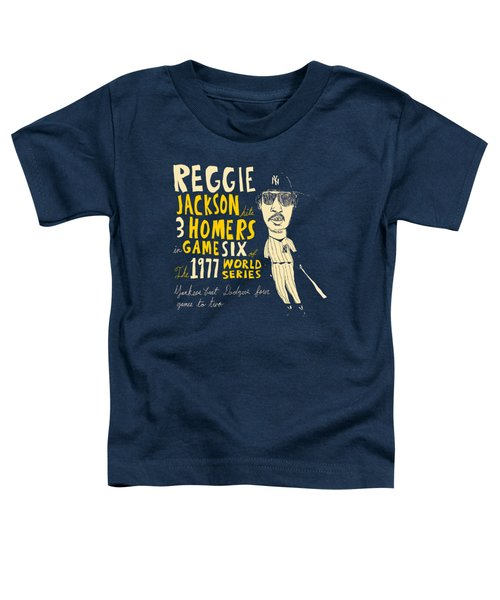 Reggie Jackson New York Yankees Toddler T-Shirt