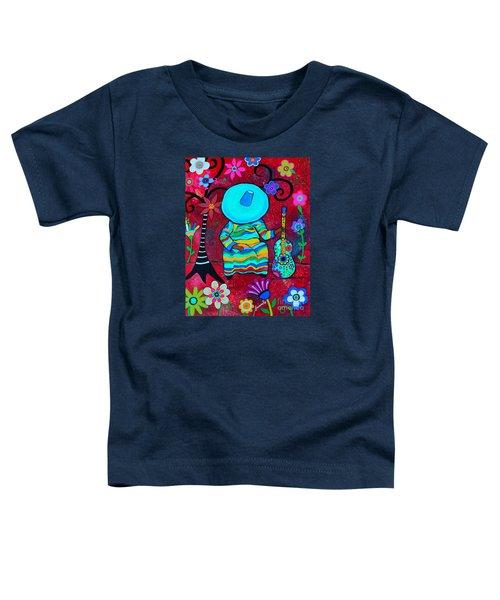 Resting Mariachi Toddler T-Shirt