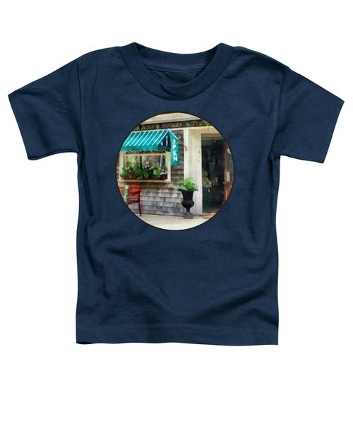 Rhode Island - Antique Shop Newport Ri Toddler T-Shirt