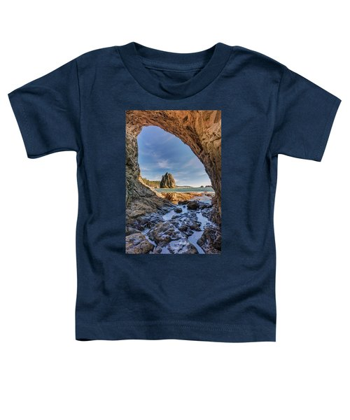 Rialto Beach Sea Arch Toddler T-Shirt