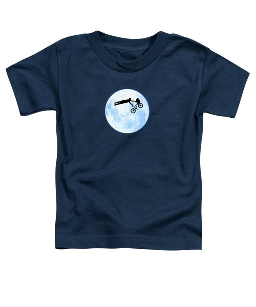 Riding The Kuwahara Bmx Like A Boss Toddler T-Shirt by Philipp Rietz