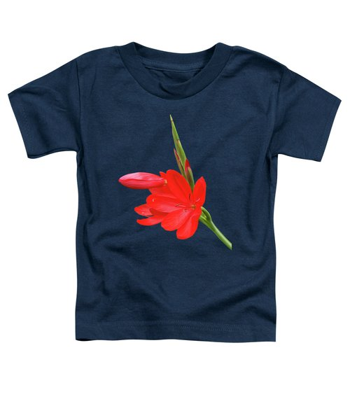 Ritzy Red Toddler T-Shirt