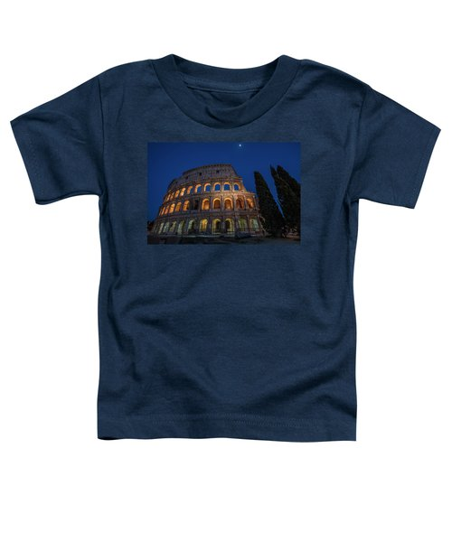 Roman Coliseum In The Evening  Toddler T-Shirt