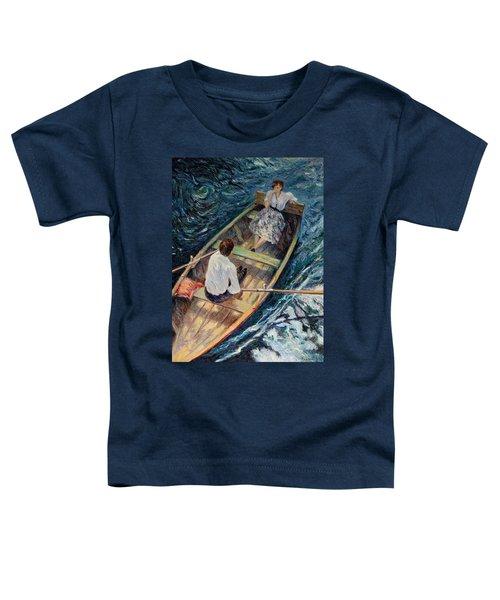 Dordogne , Beynac-et-cazenac , France ,romantic Boat Trip Toddler T-Shirt