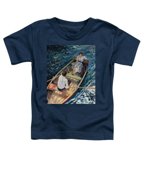 Dordogne , Beynac-et-cazenac , France ,romantic Boat Trip Toddler T-Shirt