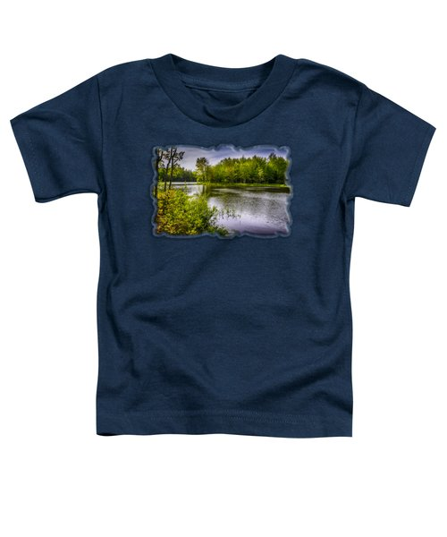 Toddler T-Shirt featuring the photograph Round The Bend In Oil 36 by Mark Myhaver