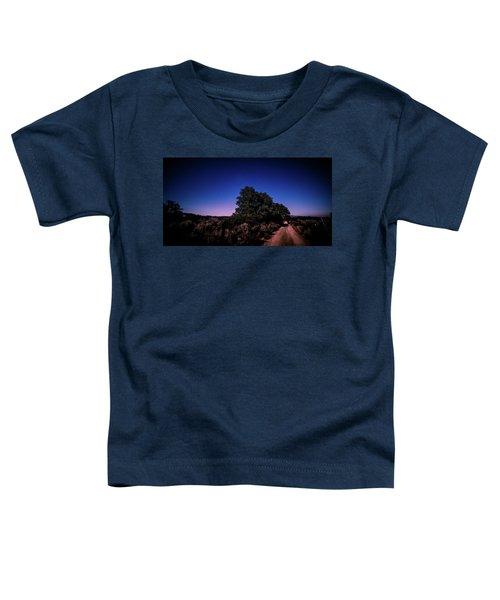 Rural Starlit Road Toddler T-Shirt