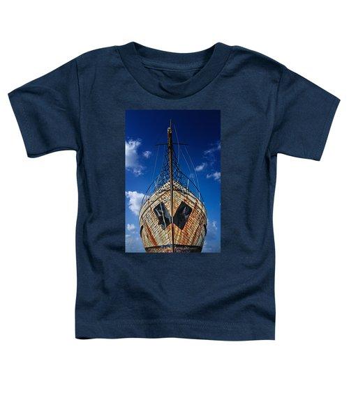 Rusting Boat Toddler T-Shirt
