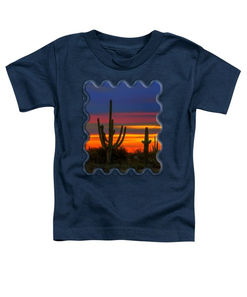 Saguaro Sunset V30 Toddler T-Shirt