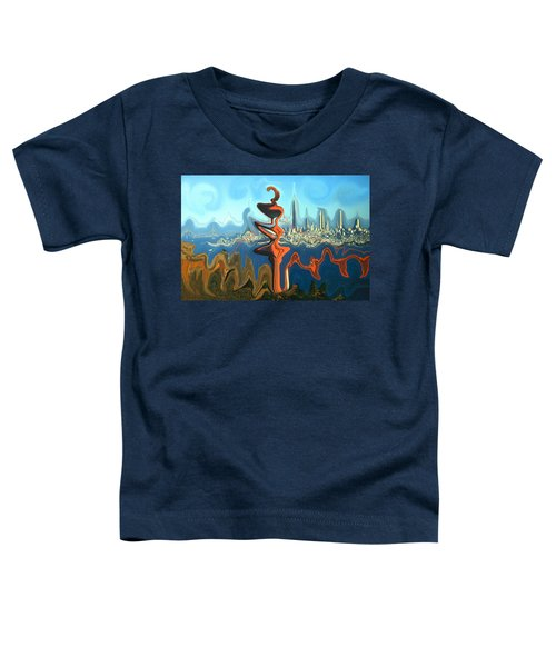 San Francisco Earthquake - Modern Artwork Toddler T-Shirt