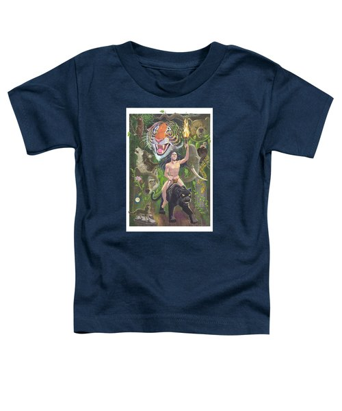 Savage Toddler T-Shirt by J L Meadows