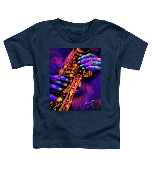 Saxy Hands Toddler T-Shirt