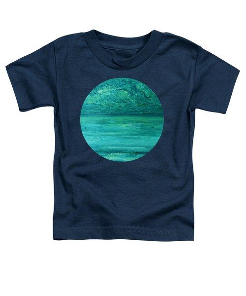 Sea Blue Toddler T-Shirt