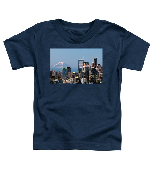 Seattle At First Light I Toddler T-Shirt