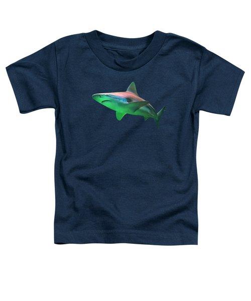 Shark On The Prowl - Perfect Predator Of The Deep Toddler T-Shirt