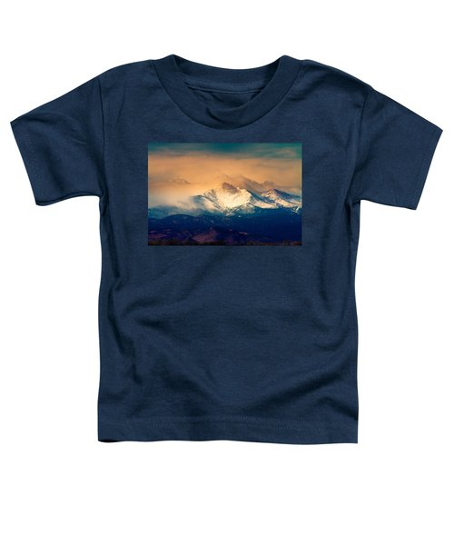 She'll Be Coming Around The Mountain Toddler T-Shirt by James BO  Insogna