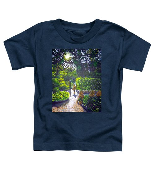Shirley At Chalice Well Toddler T-Shirt