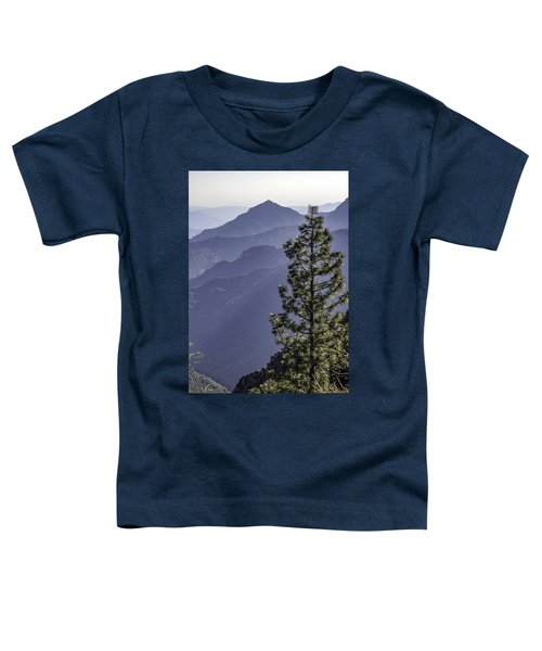 Sierra Nevada Foothills Toddler T-Shirt