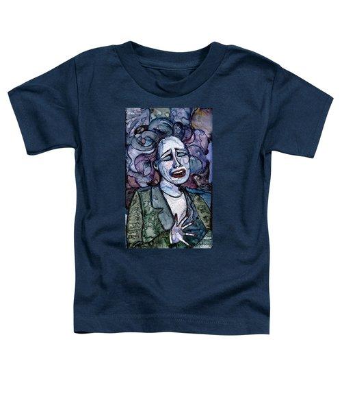 Singing Lady-blues Toddler T-Shirt