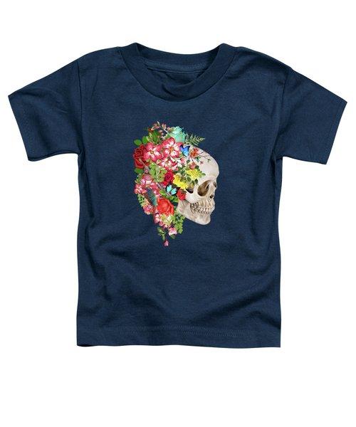 Skull Floral 2 Toddler T-Shirt