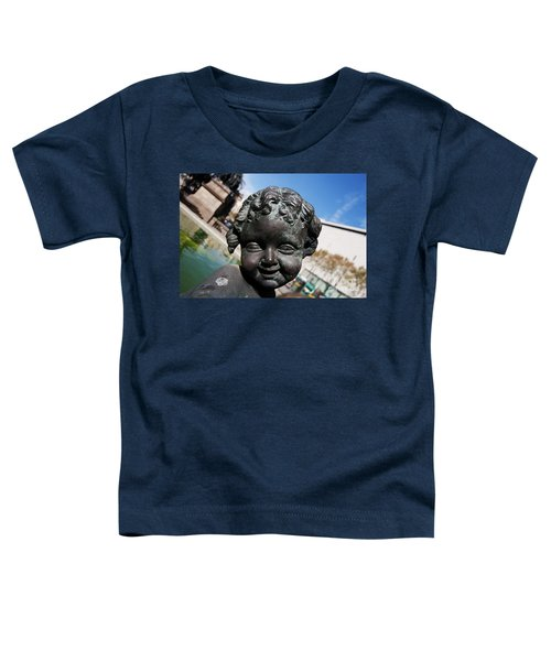 Smiling Cherub Toddler T-Shirt