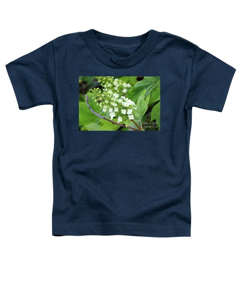 Snow Queen Hydrangea Toddler T-Shirt