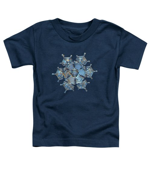 Snowflake Photo - Flying Castle Toddler T-Shirt