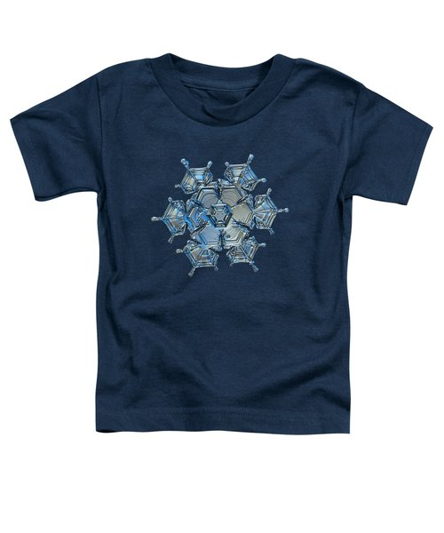Snowflake Photo - Flying Castle Alternate Toddler T-Shirt