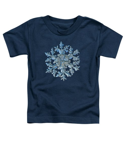 Snowflake Photo - Gardener's Dream Toddler T-Shirt