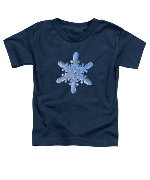 Snowflake Photo - Heart-powered Star Alternate Toddler T-Shirt